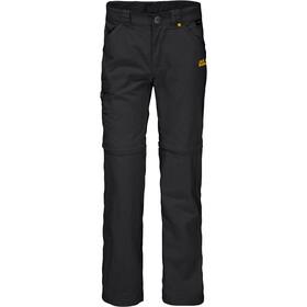 Jack Wolfskin Safari Zip-Off Pants Kids black